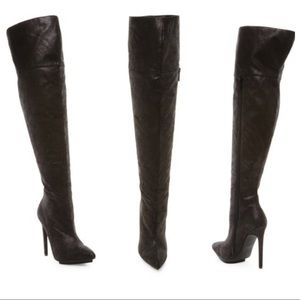Michael Antonio Woosey Thigh High Stiletto Boot
